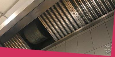 Limpieza y mantenimiento de cocinas y baños industriales