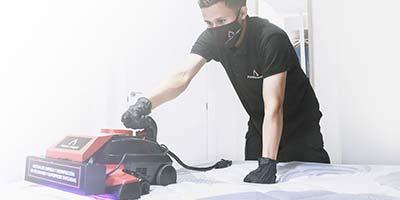 Limpieza y desinfección de colchón